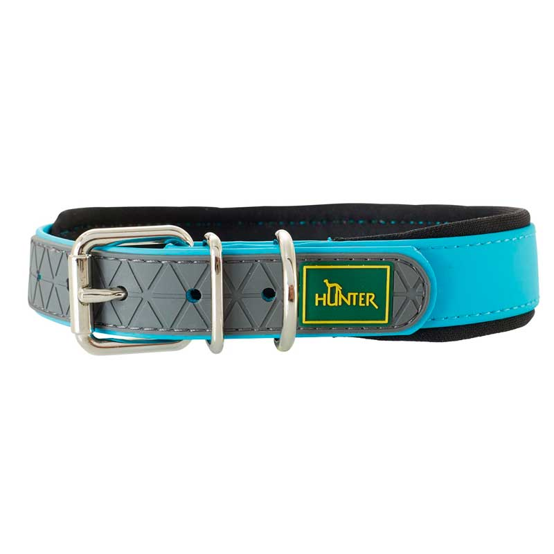 Hunter Collar Convenience Comfort Turquoise For Large Dogs
