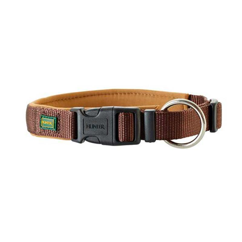 Hunter Collar Neopren Vario Plus Brown/Camel Large Dogs