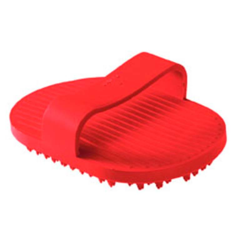 Hunter Manopla Wellness Grooming Comb Rojo