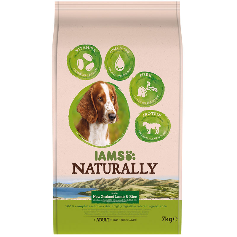 IAMS Naturally Adult Dog New Zealand Lamb & Rice