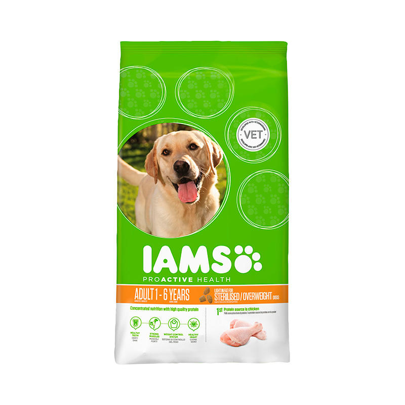 Iams Proactive Adult Light in Fat Rich in Chicken
