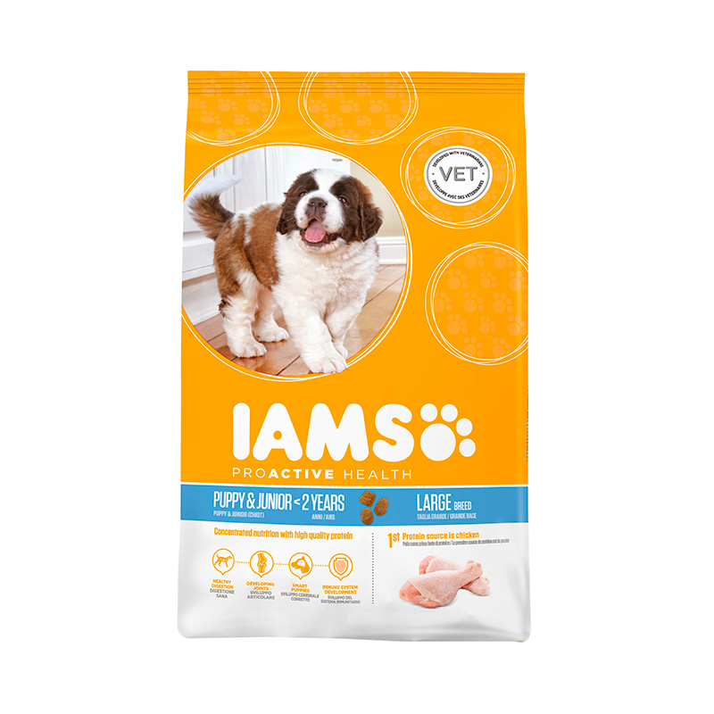 Iams Proactive Puppy & Junior Razas Grandes