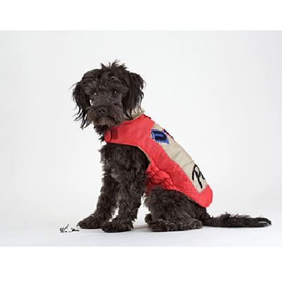 Impermeable Rojo United Pets