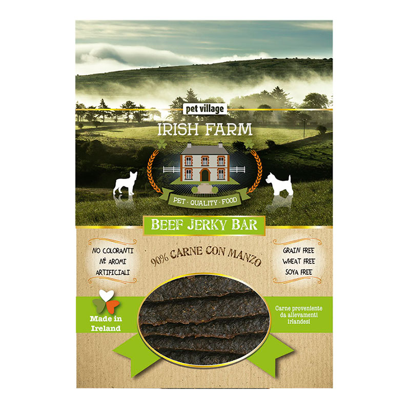 Irish Farm Grain Free Beef Jerky Bar