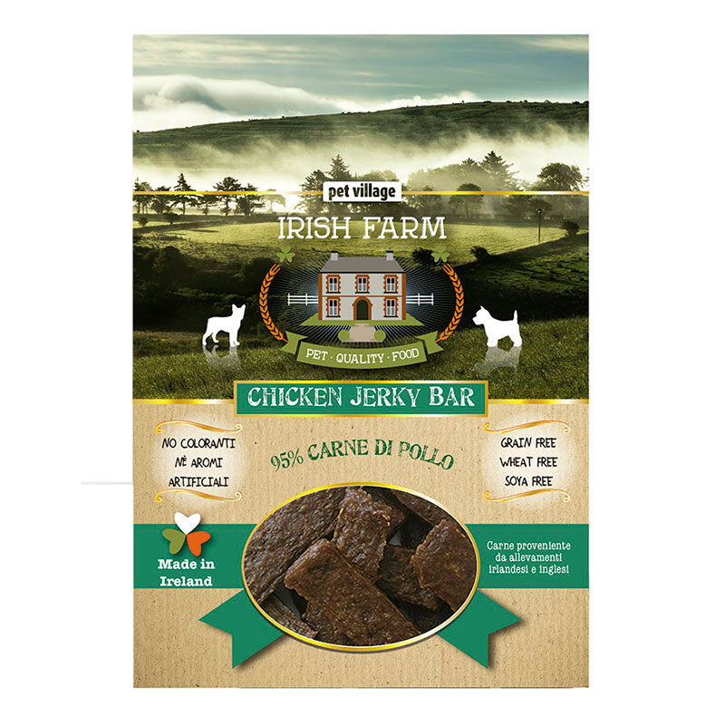 Irish Farm Grain Free Chicken Jerky Bar
