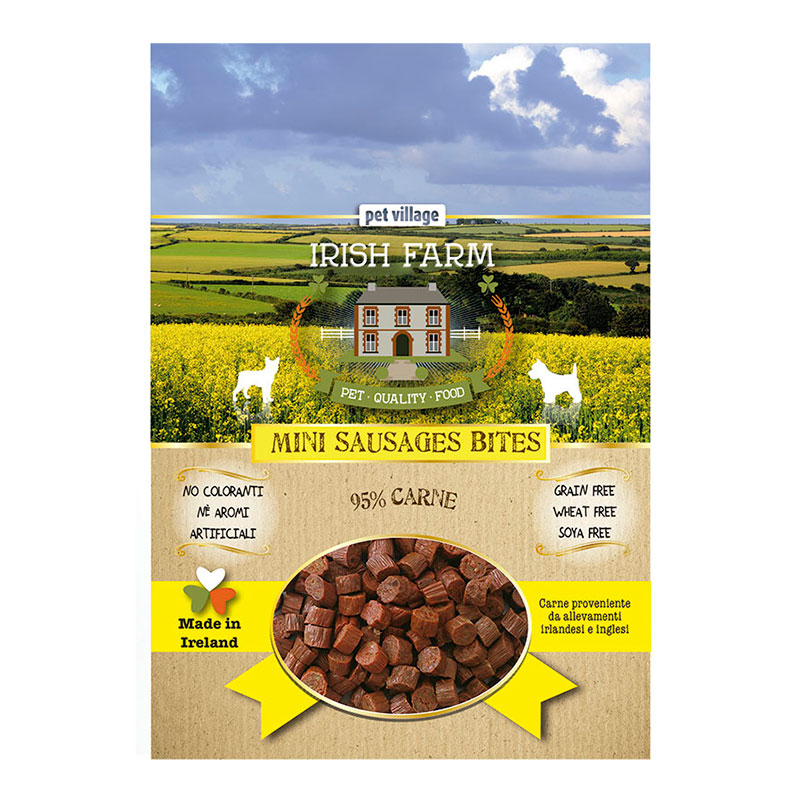 Irish Farm Grain Free Mini Sausages Bites