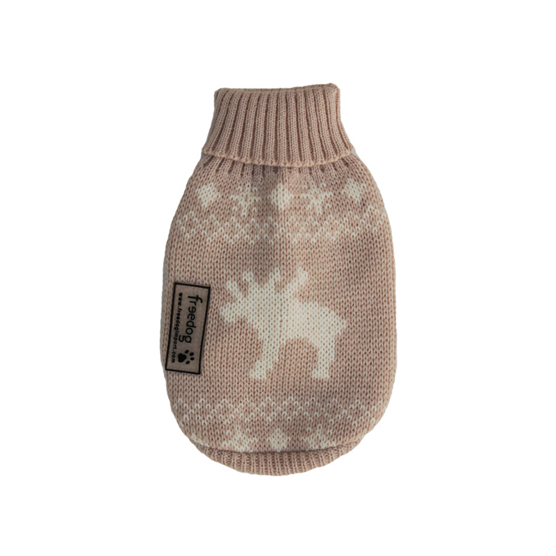 Beige Jersey Elk for Dogs