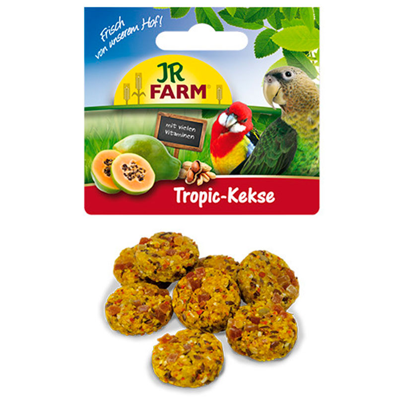 Jr Farm Bird Galletas Tropic para Loros
