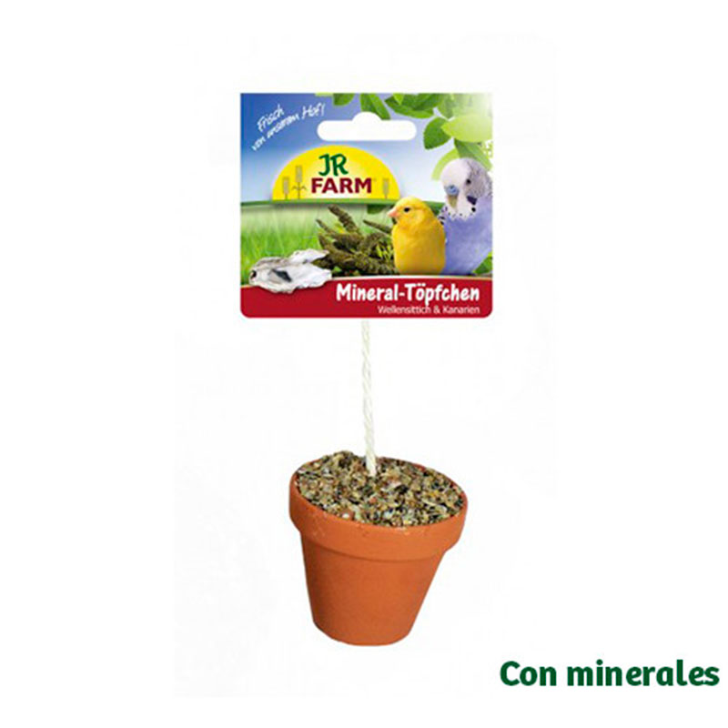 Jr Farm Bird Minerals Pot for Parakeets and Canaries