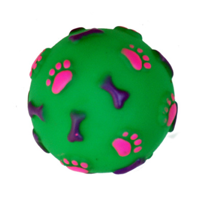 Freedog Toy Ball Bones and Footprints
