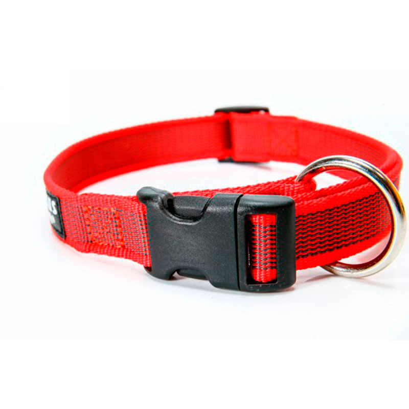Julius K9 Color & Gray® Dog Collar - Red