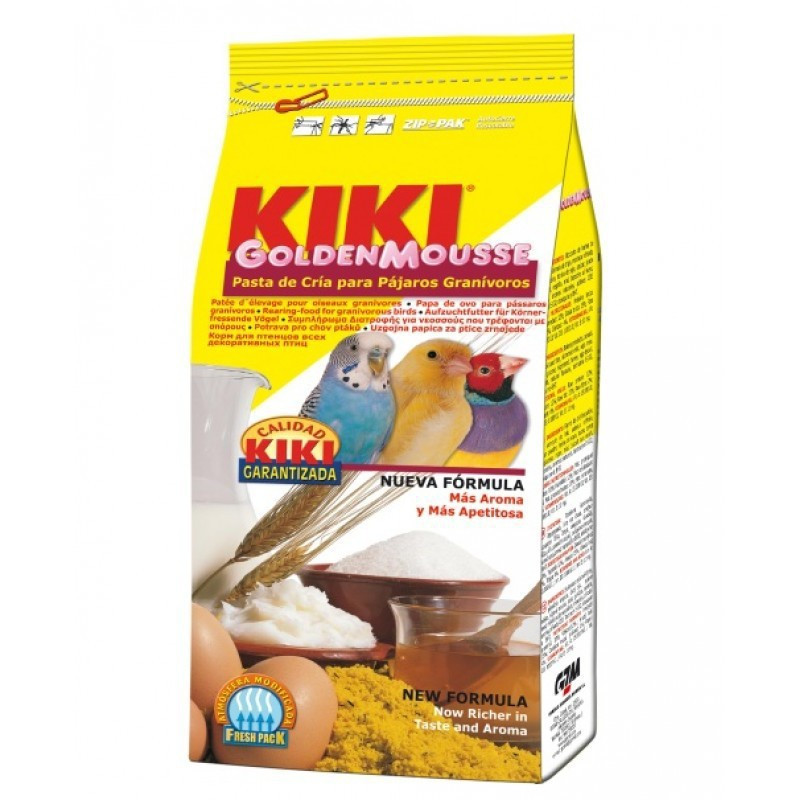 Kiki Golden Mousse Amarillo