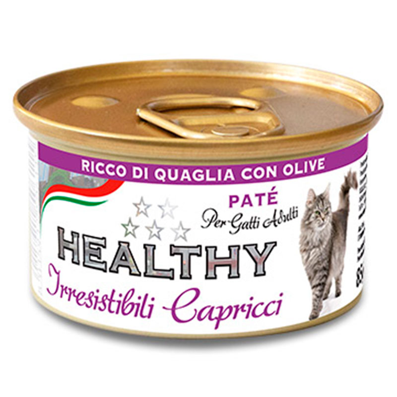 Kippy Cat Healthy Irresistible Capricci Quail & Olive