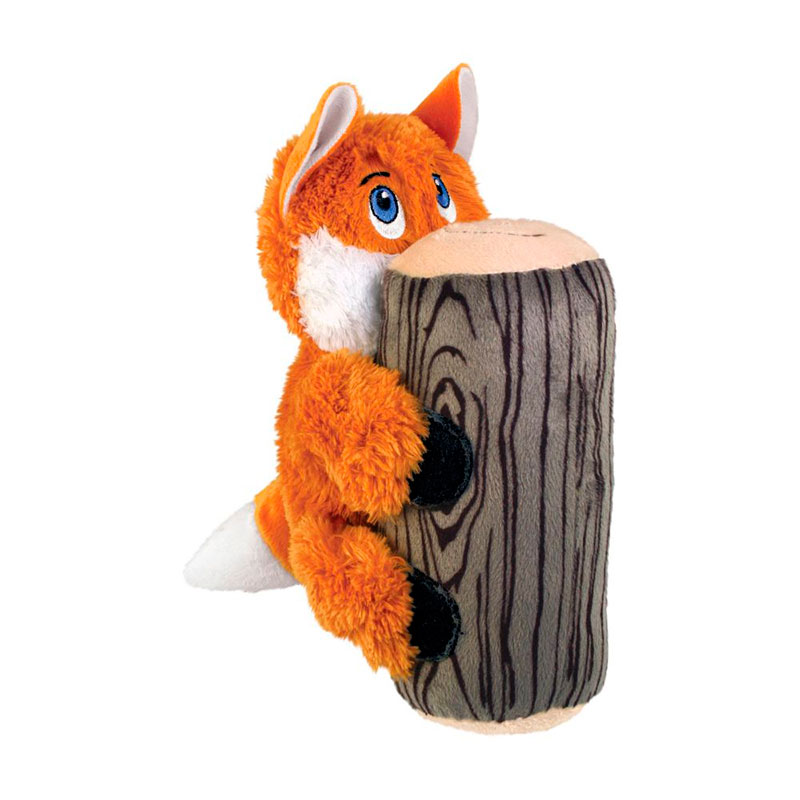 Kong Huggz Hiderz Fox Small Dog Toy