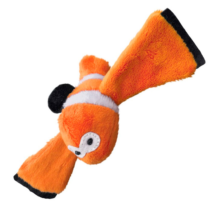 Juguete para Gato Kong Active Cat Kitty Thrasher-Clownfish