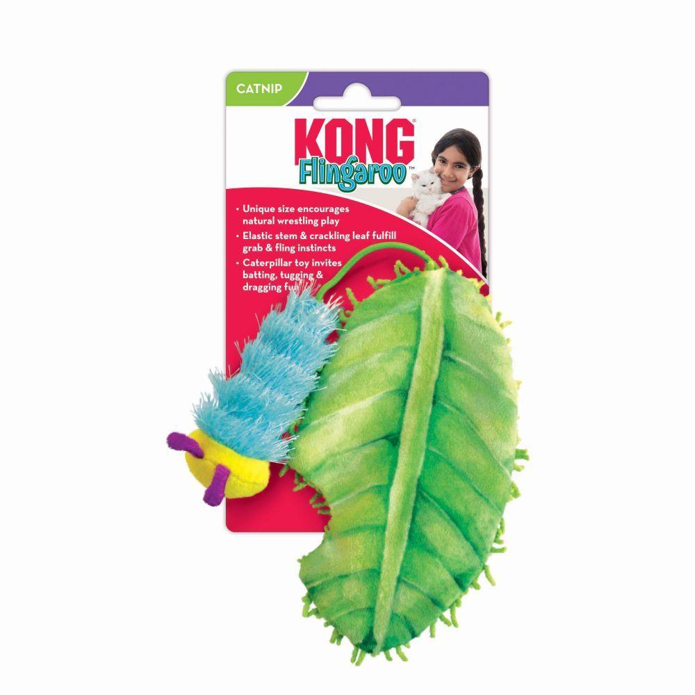 Kong Fingaroo Caterpillar Cat Toy