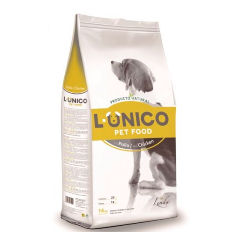 L- Unico Adult Chicken 14Kg