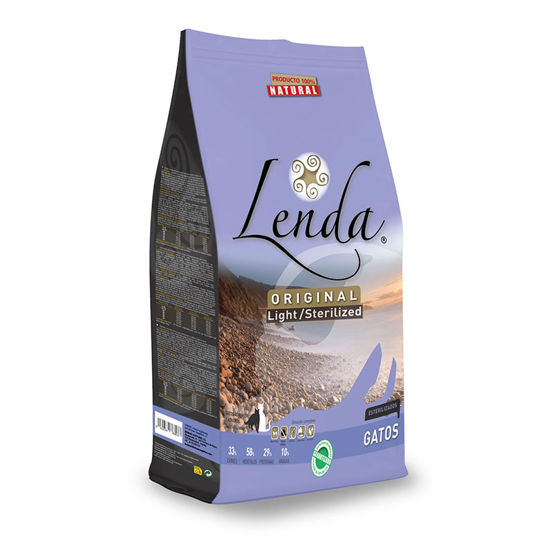 Lenda Original Gatos Light/Esterilizados