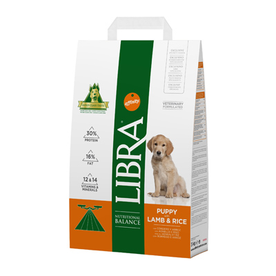 Affinity Libra Puppy with Lamb 15Kg