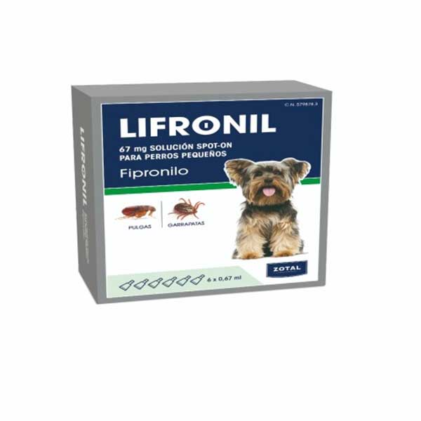 Lifronil Spot-on Pipettes for Small Dogs <10kg