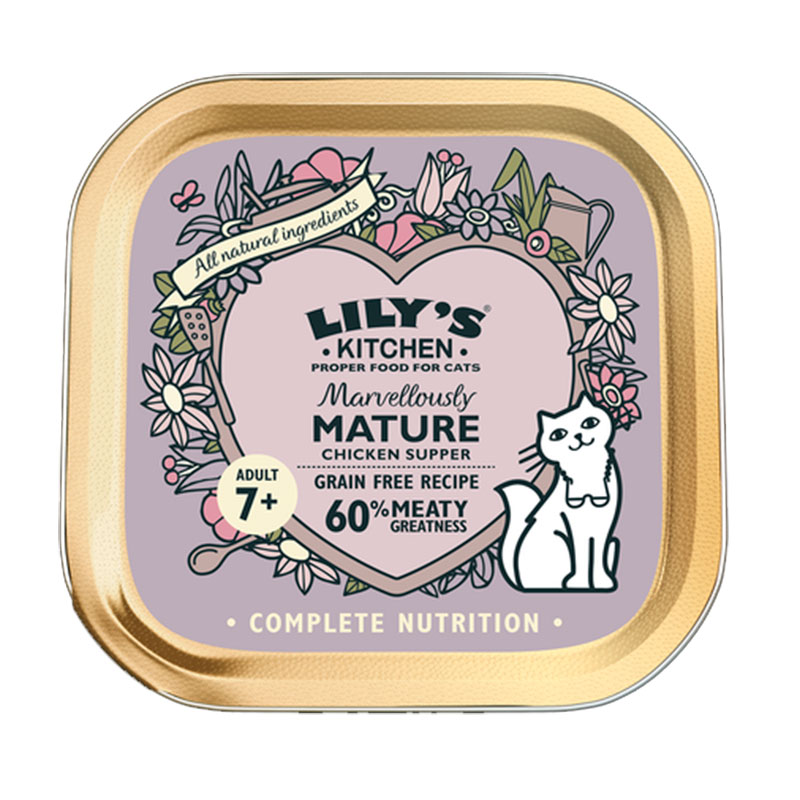 Lily's Kitchen Cat Marvellously Mature Chicken Supper