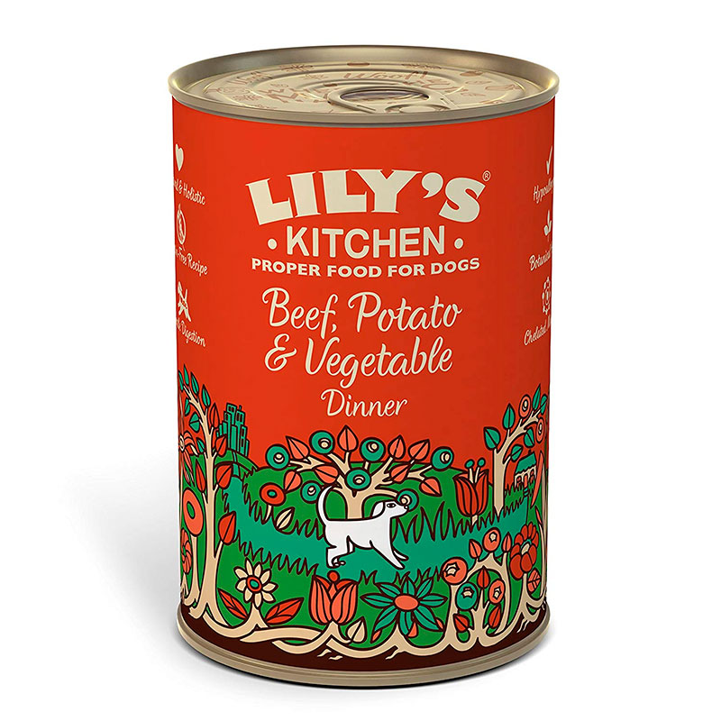 Lily's Kitchen Beef Potato and Vegetable Dinner for Dogs