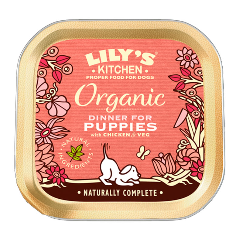 Lily\'s Kitchen Organic Dinner for Puppies