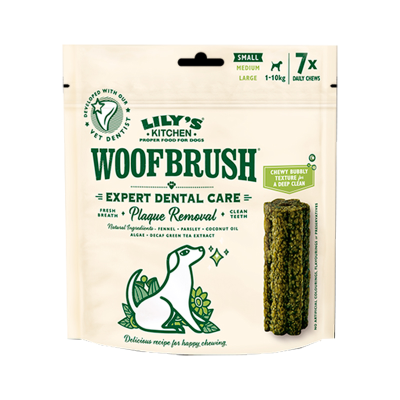 Lily's Kitchen Woofbrush Dog Dental Chews