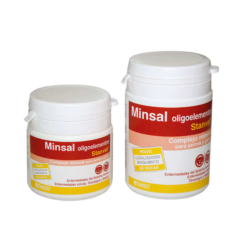 Minsal. Mineral complex with Oligoelements for dogs and cats