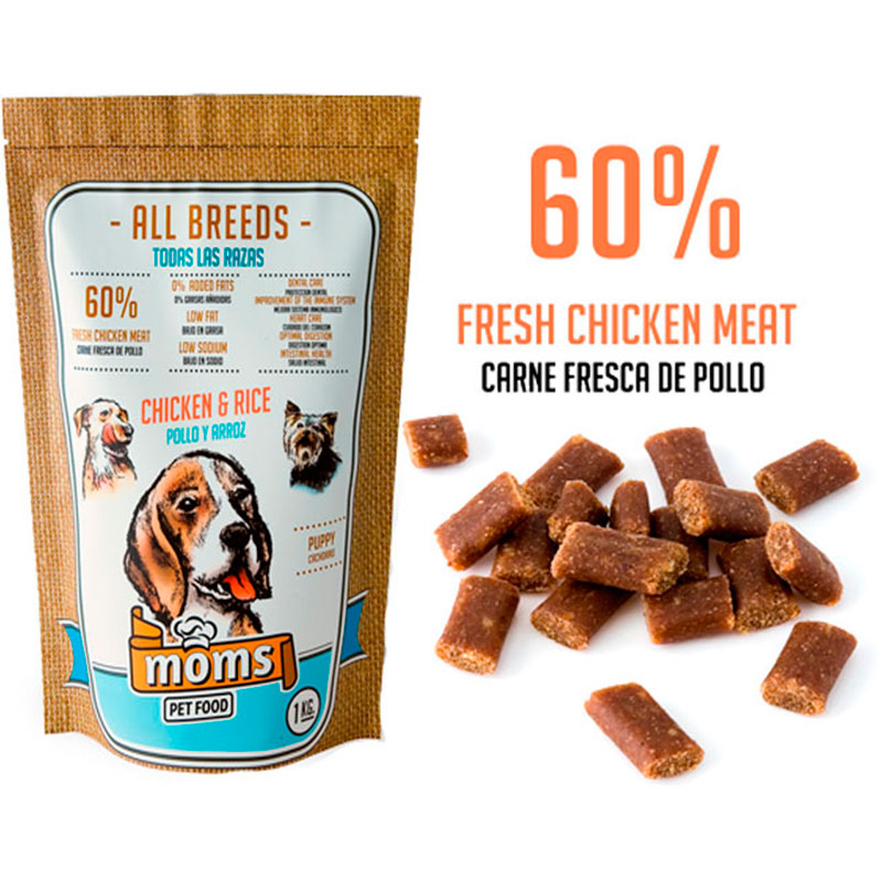 Moms Pet Food Puppy