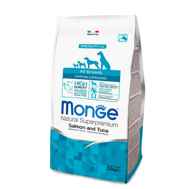 Monge All Breeds Hypoallergenic Salmon & Tuna