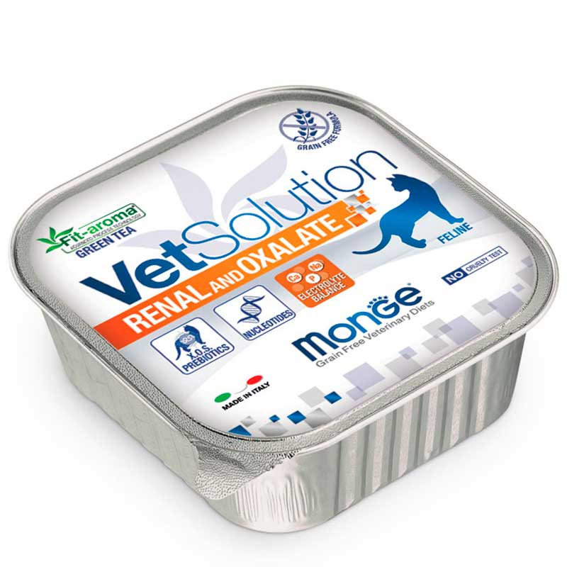 Monge Vet Solution Renal con Oxalato Cat terrine