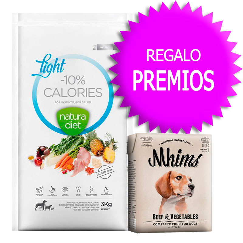 Natura Diet Light -10% Calories 12kg+Cupón