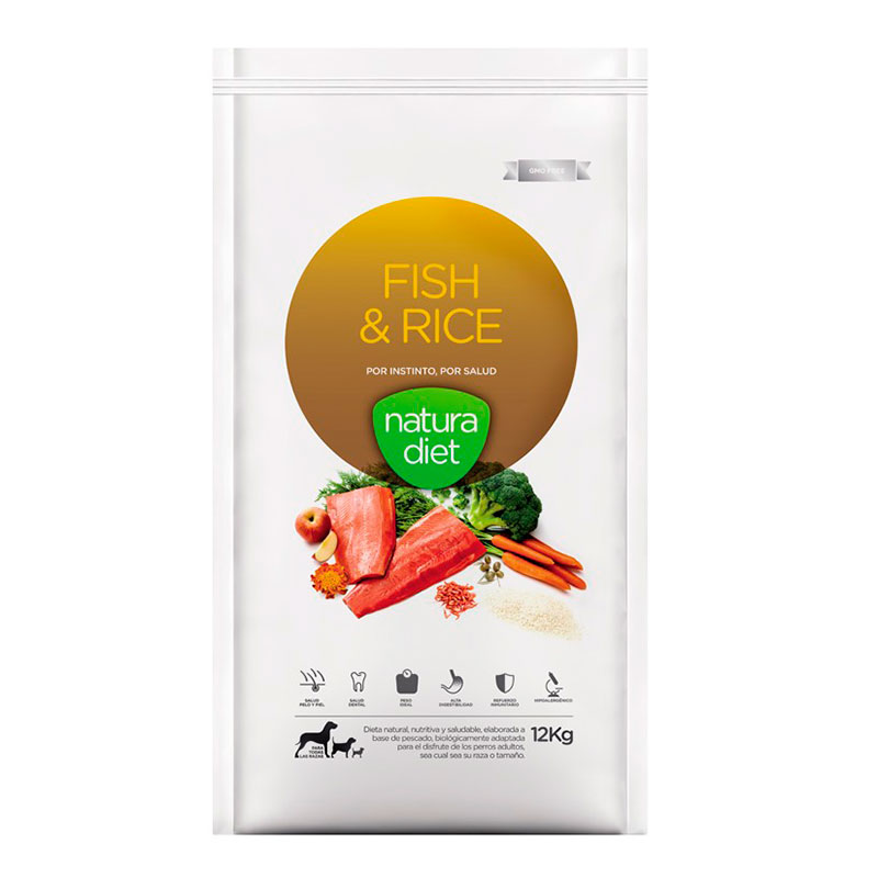 Natura Diet Fish & Rice