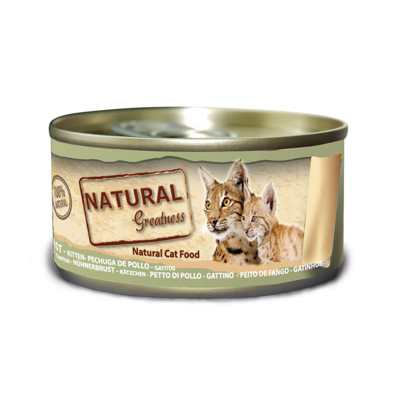 Natural Greatness Can Kitten Chicken Tuna Liver & Egg