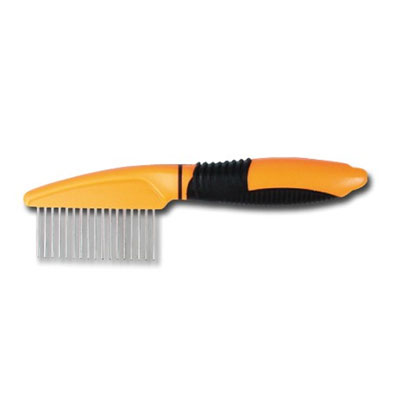 Thick Comb 17 Spikes Orange