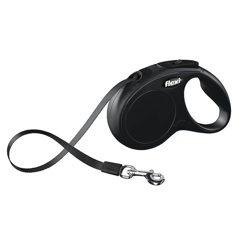 Retractable Leash flexi NEW CLASSIC Compact Black