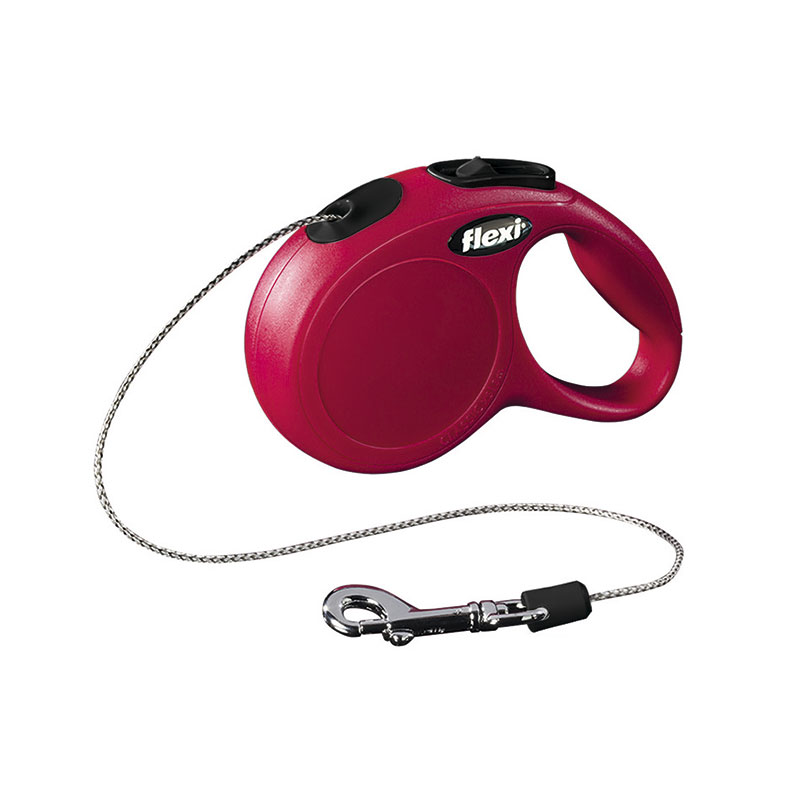Retractable Leash flexi NEW CLASSIC Basic Red