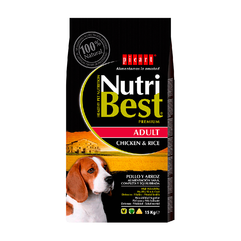 Picart NutriBest Adult Pollo y Arroz