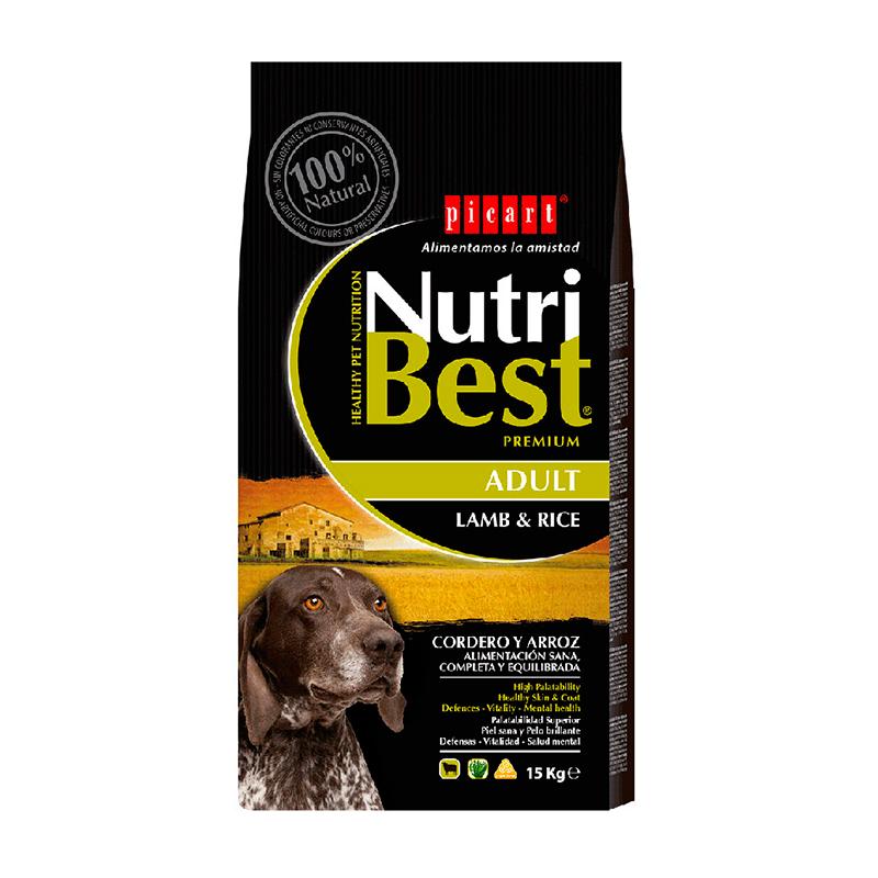 Picart NutriBest Adult Cordero y Arroz