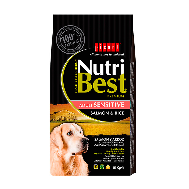 Picart NutriBest Sensitive Salmón y Arroz