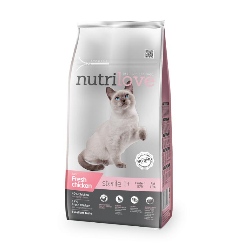 Nutrilove Sterilized Cat