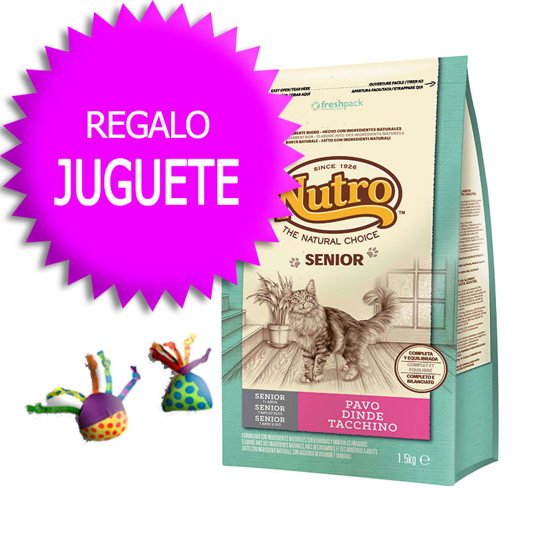 Nutro Choice Adult Cat with Turkey+Petstages
