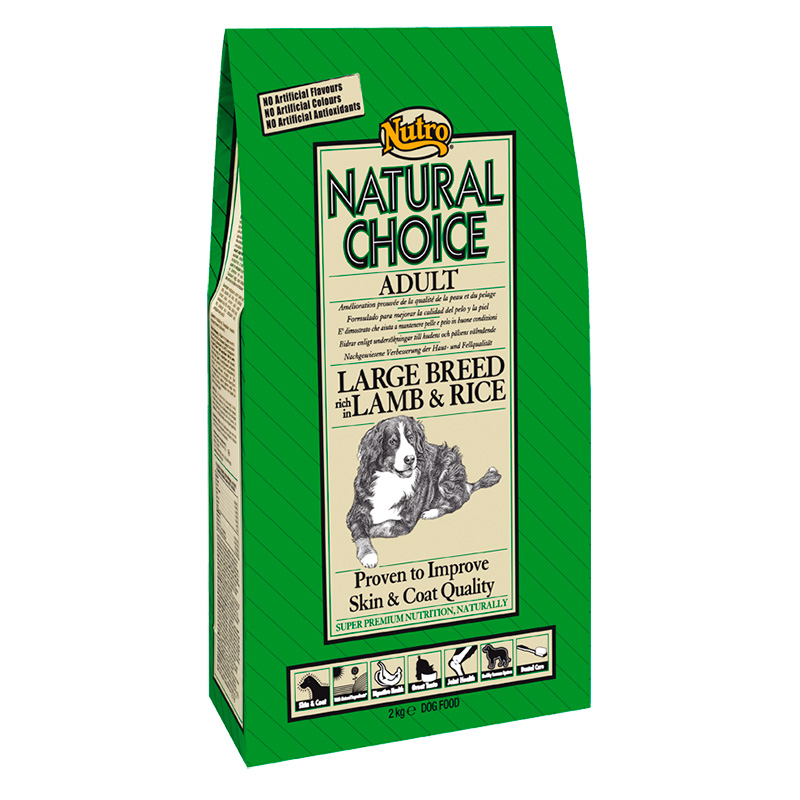 Nutro Choice Adult Large Breed with Lamb & Rice 12Kg