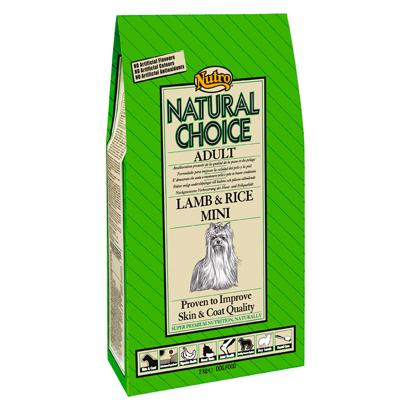 Nutro Choice Adult with Lamb & Rice Mini