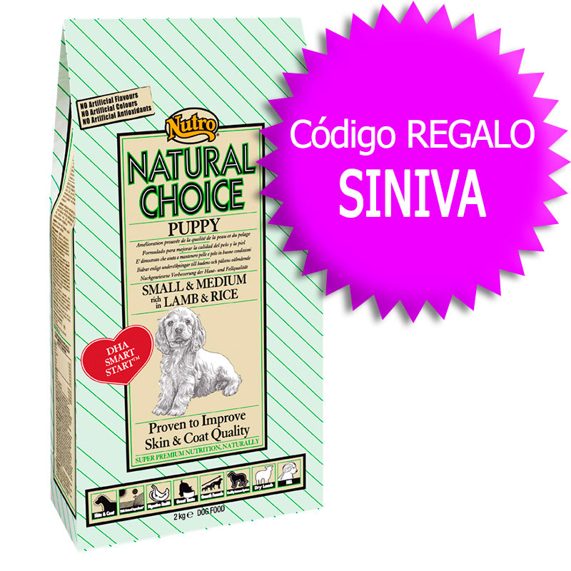 Nutro Choice Puppy with Lamb & Rice 12Kg+Coupon