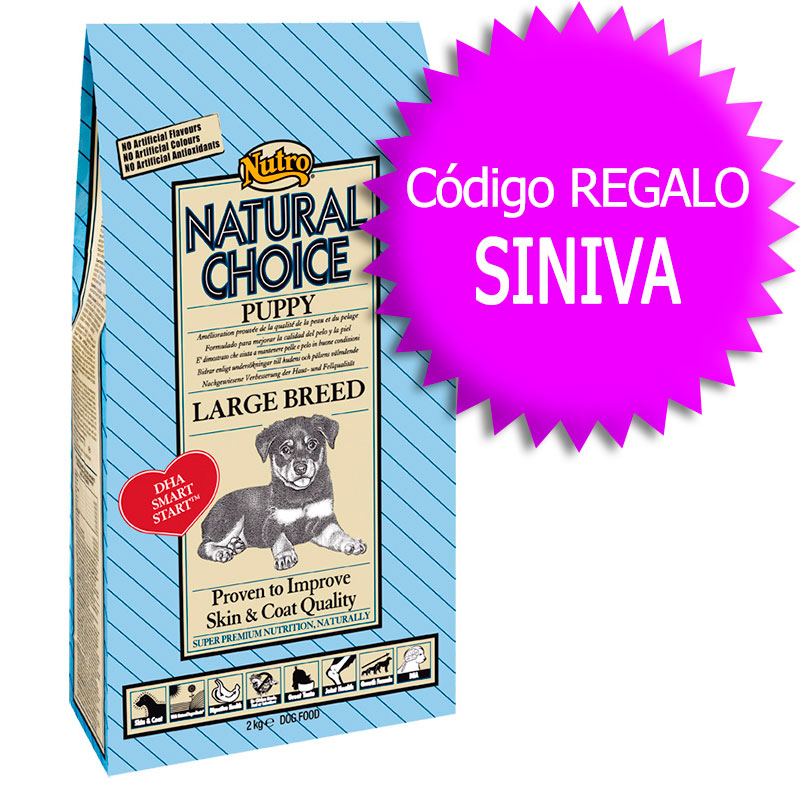 Nutro Choice Puppy Large Breed 12Kg+Coupon