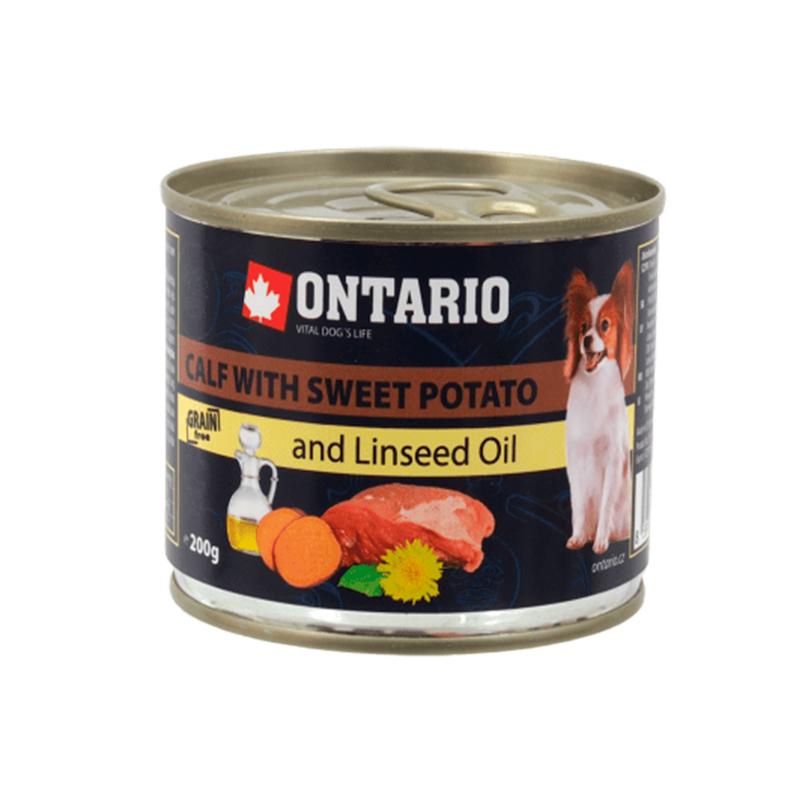 Ontario Mini Calf Sweet Potato Linsed Oil