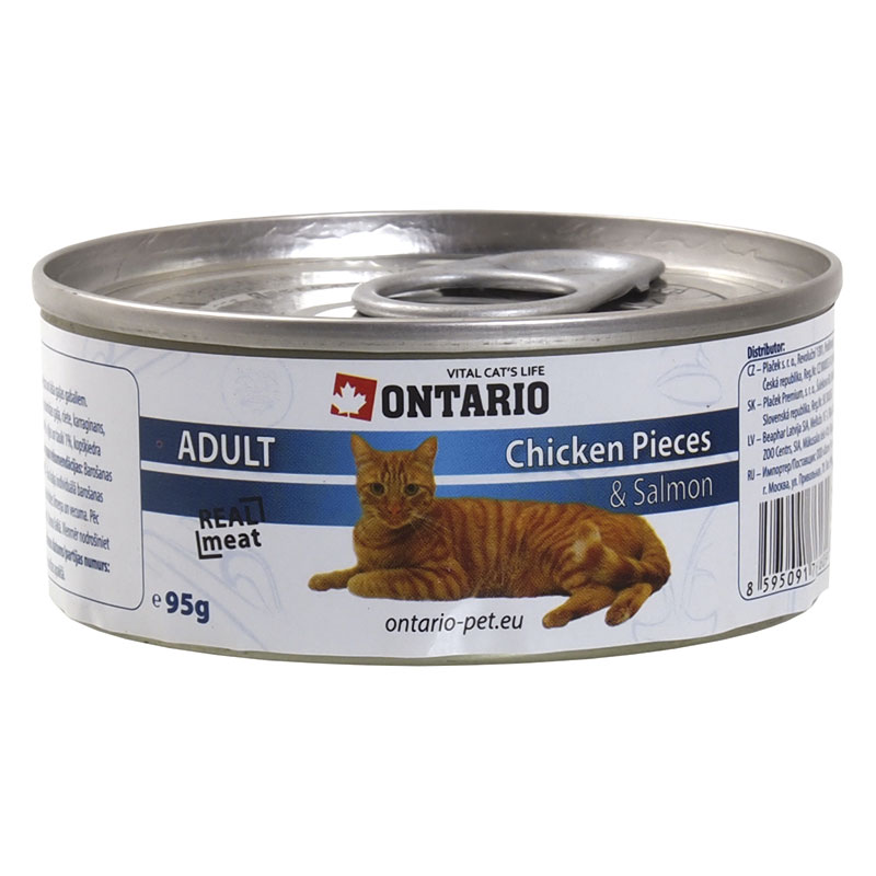 Ontario Feline Chicken Pieces & Salmon