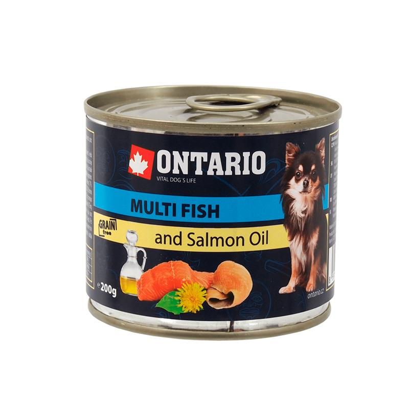 Ontario Mini Multi Fish Salmon Oil